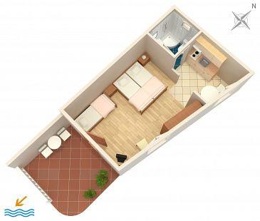 Studio AS-5641-b - Apartamenty Bol (Brač) - 5641