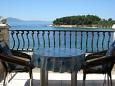 Terrace - Studio flat AS-566-b - Apartments Sućuraj (Hvar) - 566