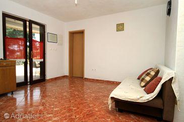 Uvala Vela Lučica, Living room u smještaju tipa house, dopusteni kucni ljubimci.