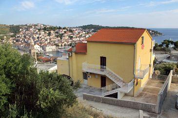 Property Hvar (Hvar) - Accommodation 5687 - Apartments with pebble beach.