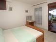 Hvar, Bedroom 1 u smještaju tipa apartment, dopusteni kucni ljubimci i WIFI.