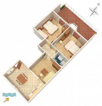 Apartment A-5698-a - Apartments Jelsa (Hvar) - 5698
