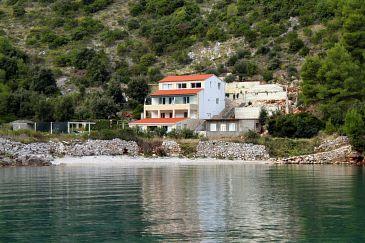 Obiekt Uvala Prapratna (Hvar) - Zakwaterowanie 5704 - Apartamenty blisko morza ze żwirową plażą.