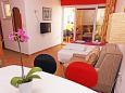 Living room - Apartment A-5706-b - Apartments Hvar (Hvar) - 5706