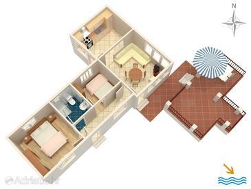 Apartment A-572-b - Apartments Korčula (Korčula) - 572