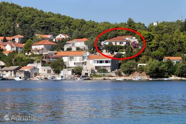 Property Korčula (Korčula) - Accommodation 572 - Apartments near sea with pebble beach.