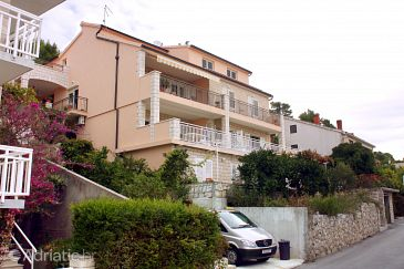 Property Hvar (Hvar) - Accommodation 5720 - Apartments near sea with pebble beach.