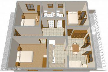 Apartment A-573-a - Apartments Žrnovska Banja (Korčula) - 573