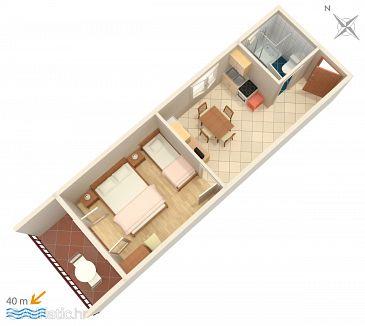 Apartment A-574-c - Apartments Brna (Korčula) - 574