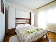 Kožino, Bedroom u smještaju tipa apartment, WIFI.