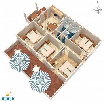 Apartment A-575-a - Apartments Uvala Torac (Hvar) - 575