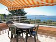 Terrace - Apartment A-5750-a - Apartments Kožino (Zadar) - 5750