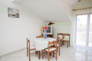 Privlaka, Dining room u smještaju tipa apartment, WIFI.