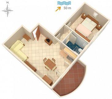Apartment A-5766-e - Apartments and Rooms Ražanac (Zadar) - 5766