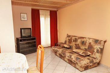 Zadar - Diklo, Living room u smještaju tipa apartment, WIFI.
