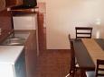 Bibinje, Dining room u smještaju tipa apartment, WIFI.