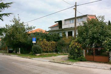Zadar, Zadar, Obiekt 5788 - Apartamenty ze żwirową plażą.