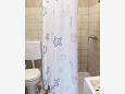Kožino, Bathroom u smještaju tipa studio-apartment, WIFI.