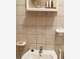 Bathroom - Studio flat AS-5803-a - Apartments Kožino (Zadar) - 5803