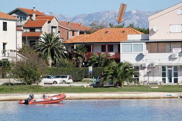 Obiekt Privlaka (Zadar) - Zakwaterowanie 5813 - Apartamenty blisko morza z piaszczystą plażą.