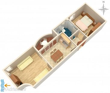 Apartment A-5887-b - Apartments Zadar - Diklo (Zadar) - 5887