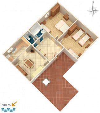Apartament A-5899-a - Apartamenty Biograd na Moru (Biograd) - 5899