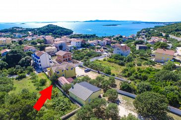 Property Drage (Biograd) - Accommodation 5904 - Apartments with pebble beach.