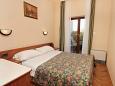 Zaton, Bedroom u smještaju tipa apartment, dostupna klima.