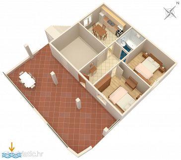 Apartment A-5946-c - Apartments Vinišće (Trogir) - 5946