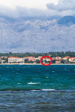 Property Vrsi - Mulo (Zadar) - Accommodation 5951 - Apartments near sea with pebble beach.