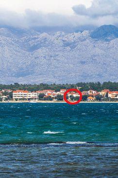 Property Vrsi - Mulo (Zadar) - Accommodation 5951 - Apartments near sea with pebble beach.