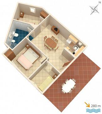 Apartament A-5953-b - Kwatery Marina (Trogir) - 5953