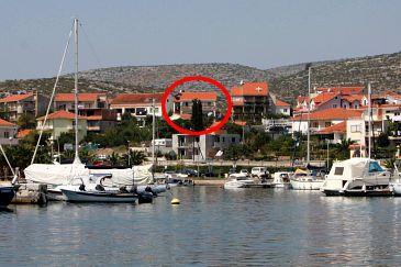 Obiekt Marina (Trogir) - Zakwaterowanie 5953 - Kwatery ze żwirową plażą.