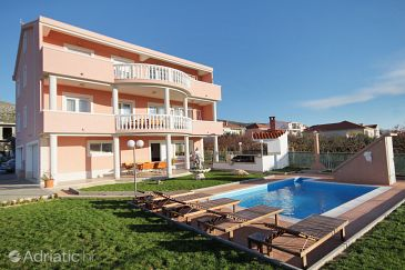Property Trogir (Trogir) - Accommodation 5963 - Apartments with pebble beach.