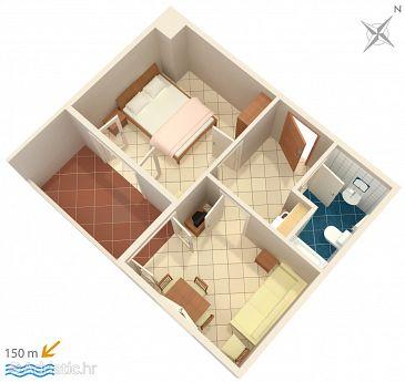 Apartment A-5973-a - Apartments Duće (Omiš) - 5973