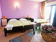 Bedroom - Studio flat AS-6004-b - Apartments Lokva Rogoznica (Omiš) - 6004
