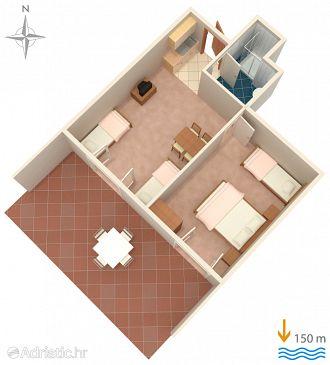 Apartment A-6005-a - Apartments Lokva Rogoznica (Omiš) - 6005