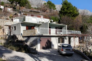 Property Lokva Rogoznica (Omiš) - Accommodation 6005 - Apartments near sea with pebble beach.