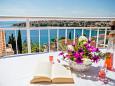 Mavarštica, Terrace - view u smještaju tipa apartment, dopusteni kucni ljubimci i WIFI.