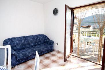 Vinišće, Living room u smještaju tipa apartment, dostupna klima i WIFI.