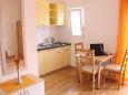 Slatine, Dining room u smještaju tipa studio-apartment, WIFI.