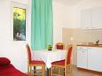 Dining room - Studio flat AS-6025-e - Apartments Komarna (Ušće Neretve) - 6025