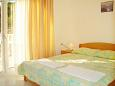 Bedroom - Studio flat AS-6025-e - Apartments Komarna (Ušće Neretve) - 6025