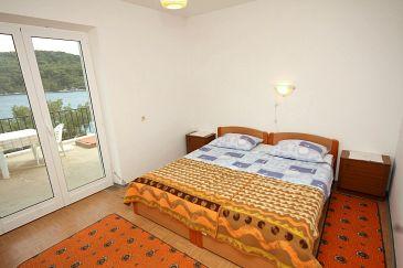 Polače, Bedroom u smještaju tipa room, dopusteni kucni ljubimci i WIFI.