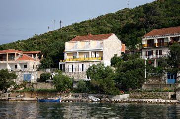 Obiekt Polače (Mljet) - Zakwaterowanie 604 - Kwatery blisko morza.
