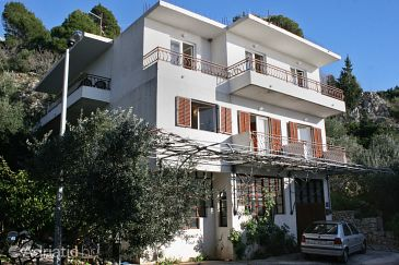 Property Drašnice (Makarska) - Accommodation 6042 - Apartments with pebble beach.