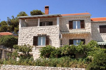 Property Postira (Brač) - Accommodation 6053 - Apartments near sea with pebble beach.