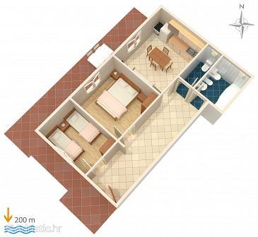 Apartment A-6057-c - Apartments Baška Voda (Makarska) - 6057