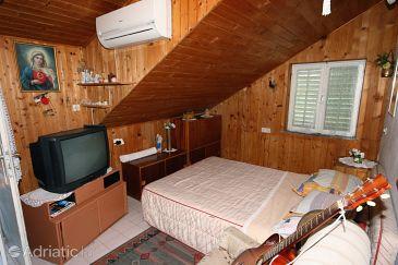 Slatine, Living room u smještaju tipa apartment, dostupna klima i WIFI.