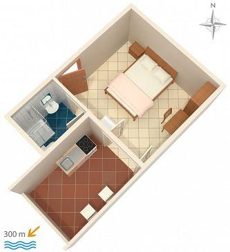 Studio AS-6070-b - Apartamenty Nemira (Omiš) - 6070